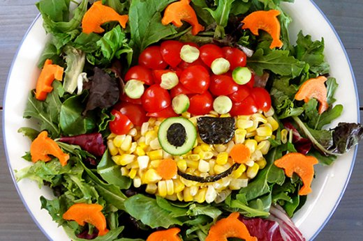20 Creative Salad Presentation Ideas For Kids
