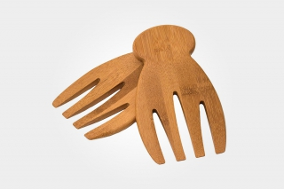 Salad Hands That Make Tossing And Serving Fun
