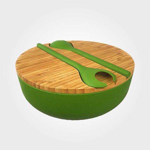 Bamboo Salad Serving Bowl