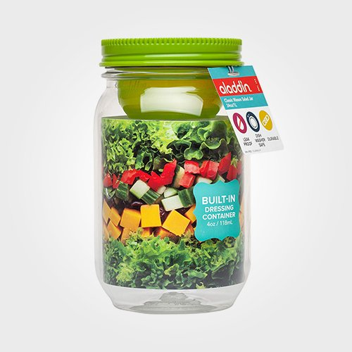 Aladdin Classic Mason Salad Jar