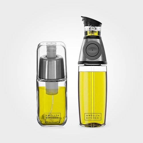 Olive Oil Dispenser and Sprayer